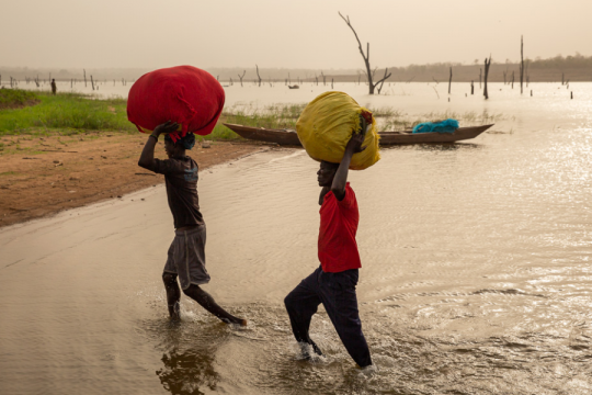 Regula Tschumi Photography album:Markets around the Lake Volta